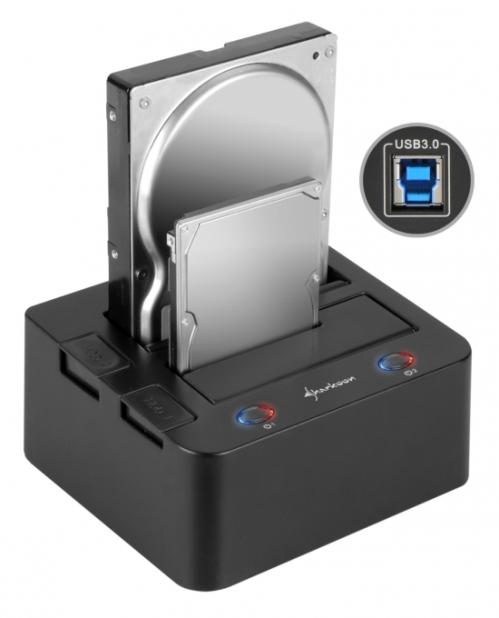 Portador de discos duros para USB
